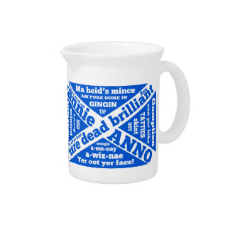 Argot y frases escoceses jarras para bebida