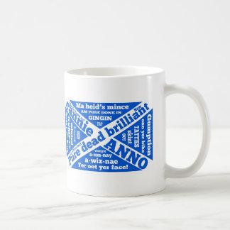 Argot y frases escoceses taza