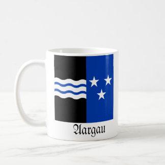 Argovia, banderas de Schweiz Fahnen Tazas De Café