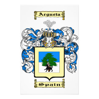 Argueta Stationery