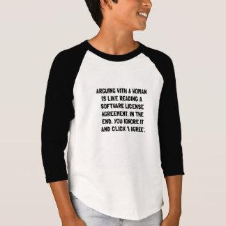 Arguing Woman T-Shirt