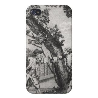 Argument between Jean-Jacques Rousseau iPhone 4 Case