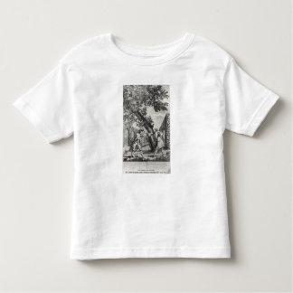 Argument between Jean-Jacques Rousseau Toddler T-shirt