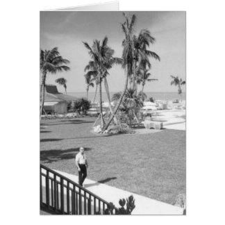 Argumentos del hotel de la isla de Marco, isla de  Tarjeta De Felicitación