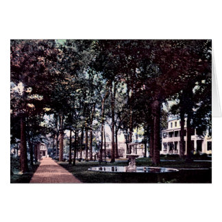 Argumentos del parque de Pittsfield Massachusetts Tarjeta De Felicitación