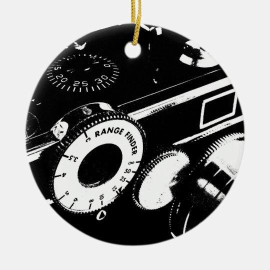 Argus C-3 Vintage Camera Ornament