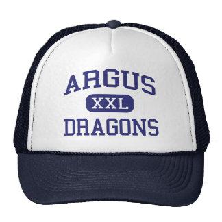 Argus - Dragons - High School - Ceres California Trucker Hat