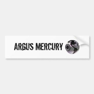 Argus Mercury Bumper Sticker Car Bumper Sticker