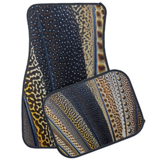 Argus Pheasant wing feathers Car Floor Mat