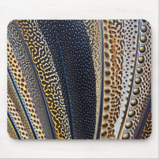 Argus Pheasant wing feathers Mouse Pad