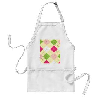 argyle adult apron