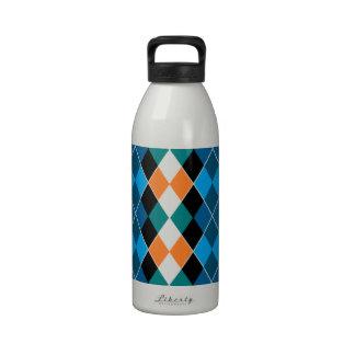 Argyle Botella De Agua Reutilizable