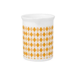 Argyle anaranjado jarras