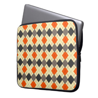Argyle Barbecue Laptop Computer Sleeves