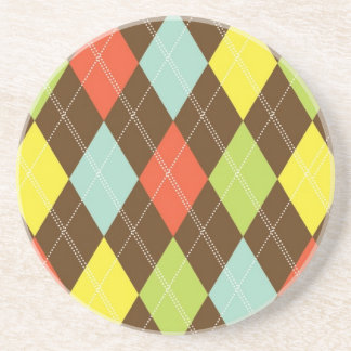 Argyle Beverage Coaster - Seasons