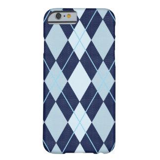 ARGYLE BLUE iPhone 6 case