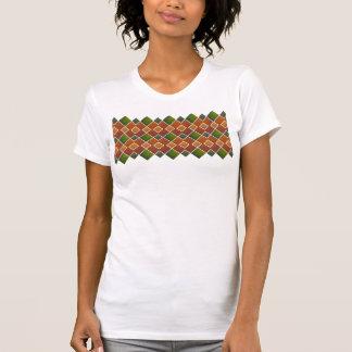 Argyle bonito camisetas