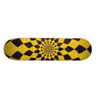 Argyle Burst/Flower - Taxi Skateboard Deck