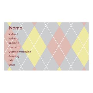 Argyle - Business Business Cards