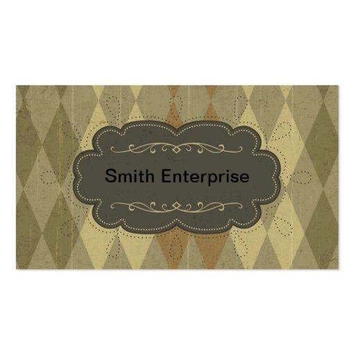 Argyle Business Card Templates