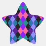 Argyle Calcomanías Forma De Estrellaes