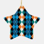 Argyle Christmas Ornaments