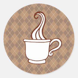Argyle Coffee Stickers