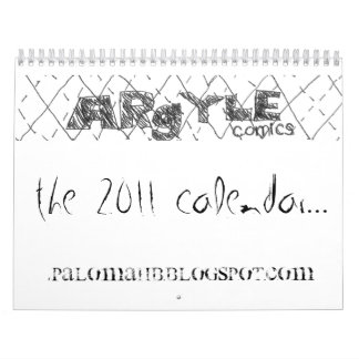 Argyle Comics 2011 Calendar