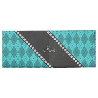 Argyle conocido personalizado de la turquesa billeteras tyvek®