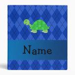 Argyle conocido personalizado del azul de la tortu