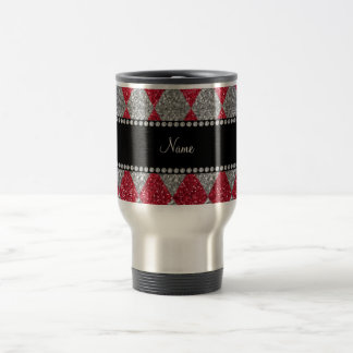 Argyle conocido personalizado del brillo del rojo  tazas de café