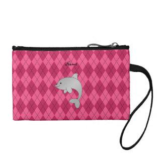 Argyle conocido personalizado del rosa del delfín
