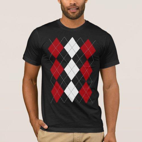 Argyle âœCrimson Red Innocenceâ shirt dark