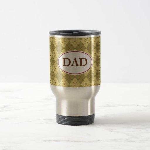 Argyle Dad  Mug
