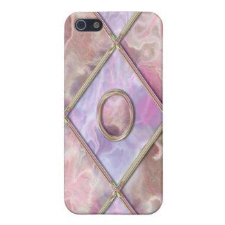 Argyle de mármol y de cristal iPhone 5 carcasa