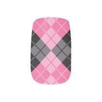 Argyle Design Nails Minx Nail Wraps