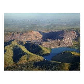 Argyle Diamond Mine Postcard
