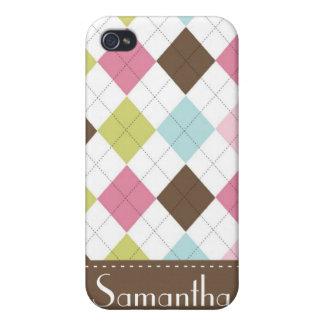 Argyle Diamond Stitch Hoot iPhone 4/4s Speck Case iPhone 4 Covers