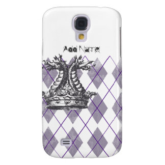 Argyle Dragon Crown Custom Samsung Galaxy S4 Case