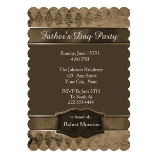 Argyle Fathers Day Invitation Custom Announcements