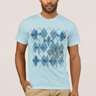 Argyle Fleur de lis T-Shirt