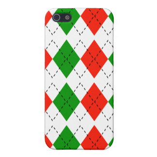 Argyle For Christmas iPhone 4 Case
