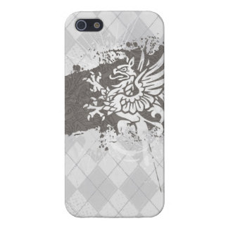 Argyle Griffon Cover For iPhone SE/5/5s