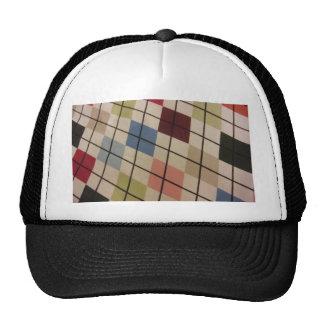 Argyle Trucker Hats