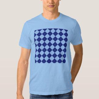 Argyle in Blues T-shirt