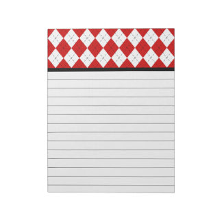 Argyle Kitchen Notepad