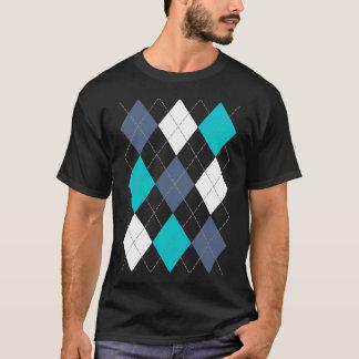 "Argyle: Nombre de código camisa ""azul"" ecléctica"