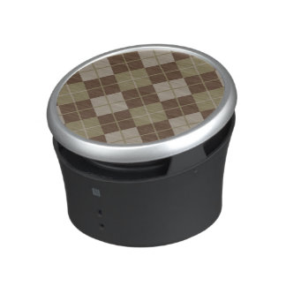 Argyle Pattern Bluetooth Speaker