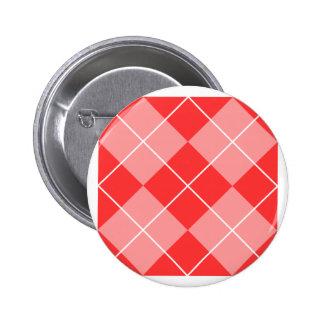 Argyle Pattern Image 2 Inch Round Button