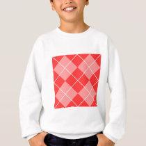 Argyle Pattern Image Sweatshirt